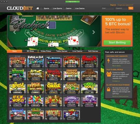 Cloudbet blackjack